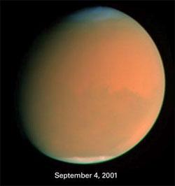 Gibbous Mars