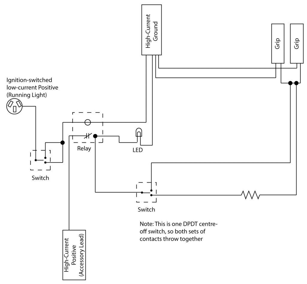 heated grip wiring diagrams harley davidson motorcycle | wiring diagram 177  athletics  farmacia gava
